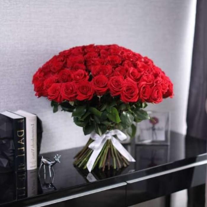 Buchet de trandafiri rosii 60CM