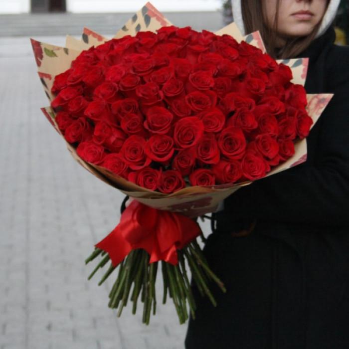 Buchet efemer de Trandafiri Rosii Ecuador