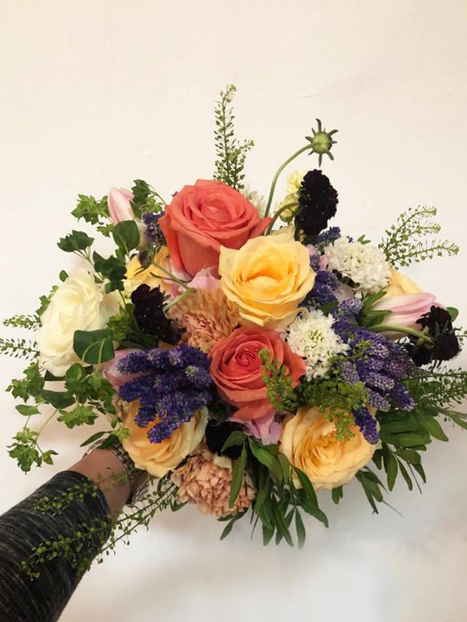 Buchet mireasa Bold Roses