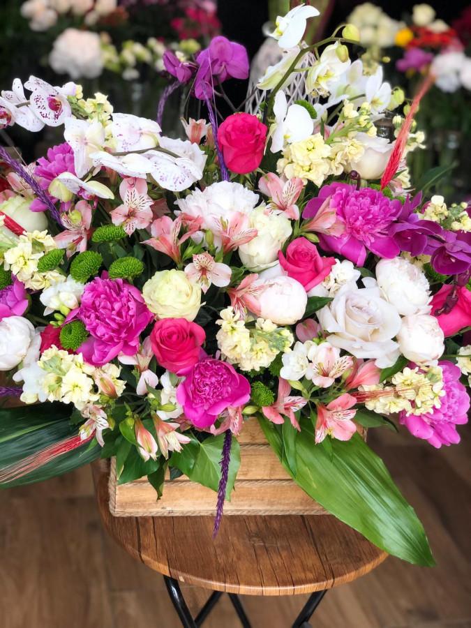 Cufăr mix flori